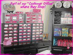 I Love Getting Inspiration From Super Organized People - Isn't this Mary Kay Director's Office To Die For?  Love it!