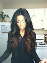 dark brown ombre hair