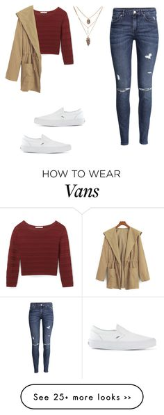 """Untitled #979"" by kiky-miskovic on Polyvore featuring mode, H&M, Rebecca Minkoff en Vans"
