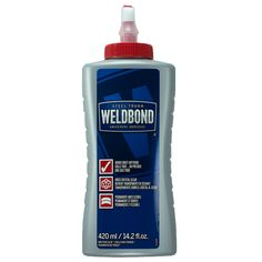 Weldbond Glue Mosaic Adhesive 420ml (14.2oz) - strong, dries clear, exterior applications Mosaic Walkway, Mosaic Garden, Glass Mosaic Tiles, Mosaic Art, Mosaic Birds, Best Glue For Glass, Glues And Adhesives, Mosaic Projects, Art Projects