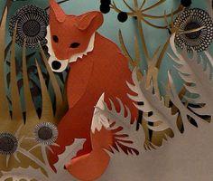 Paper cut art - Helen Musselwhite