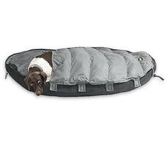 This is exactly what I've been looking for - a sleeping bag for my dog. He'll love it!