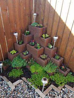 Garden Yard Ideas, Backyard Garden Design, Diy Garden Decor, Garden Projects, Garden Tools, Diy Projects, Diy Planters Outdoor, Outdoor Gardens, Small Gardens