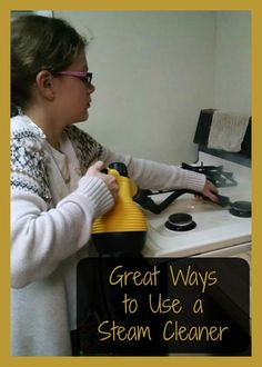 Great Ways to Use a Steam Cleaner! Read how our family uses one!