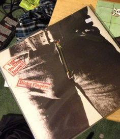 @robotjaw's Sticky Fingers record, with working zip!