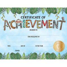 Certificate template for kids free certificate templates safari friends lg certificate award yelopaper Images
