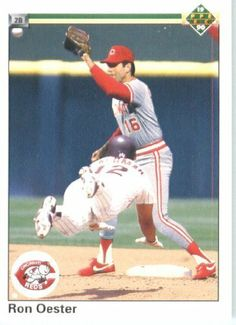 1990 Upper Deck # 118 Ron Oester Cincinnati Reds Baseball Card by Upper Deck. $2.88. 1990 Upper Deck # 118 Ron Oester Cincinnati Reds Baseball Card