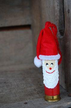 Shotgun Shell Santa by DiannasKeepsakes on Etsy, $8.00