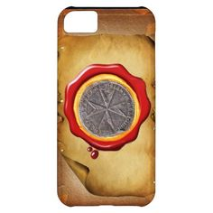 Seal of St. Stephen Tuscany Medici WAX parchment iPhone 5C Cases
