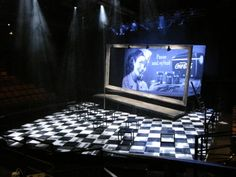 All Shook Up. Scenic design by William Boles.