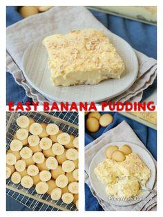 Mexican Dessert Recipes Discover Easy Banana Pudding Easy Banana Pudding is a classic banana pudding recipe loved by many loaded with sliced bananas vanilla wafers and a homemade pudding. Vanilla Wafer Dessert, Vanilla Wafer Banana Pudding, Magnolia Bakery Banana Pudding, No Bake Banana Pudding, Banana Pudding Desserts, Easy Pudding Recipes, Homemade Banana Pudding, Köstliche Desserts, Delicious Desserts