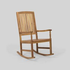Arcadia Outdoor Acacia Wood Rocking Chair by Christopher Knight Home (Teak), Brown, Outdoor Seating Contemporary Adirondack Chairs, Polywood Adirondack Chairs, Pool Furniture, Best Outdoor Furniture, Outdoor Rocking Chairs, Patio Dining Chairs, Cozy Corner, Acacia Wood, Outdoor Seating