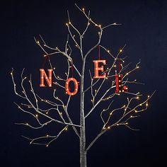 Buy John Lewis Monogram LED Letter Light, Red Online at johnlewis.com