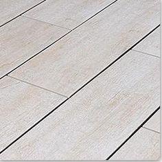 "Salerno Porcelain Tile - Rustic Handscraped Woodgrain Collection Alpine Ash / 6""x24"""