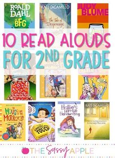 Read alouds - It's imperative to keep a chapter book close by at all times. It's the perfect solution for that awkward 8 minutes between recess and art or at the end of the day during dismissal. Here's my top 10 favorite chapter book read alouds for grade Summer Reading Lists, Kids Reading, Guided Reading, Teaching Reading, Reading Aloud, Learning, 2nd Grade Chapter Books, Third Grade Reading, Read Aloud Books
