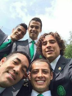 Mexican selfie ! ♥  WORLD CUP 2014