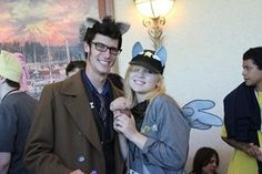 Doctor Hooves and Derpy