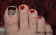 Nikki's Nail Files: Designer Week: Prada (Toetally Tuesday)