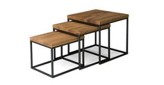 Taiga Nesting Tables - Coffee Tables - Article | Modern, Mid-Century and Scandinavian Furniture