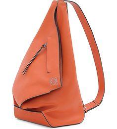 LOEWE - Anton small leather backpack | Selfridges.com