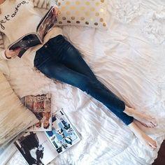 Folhear revistas