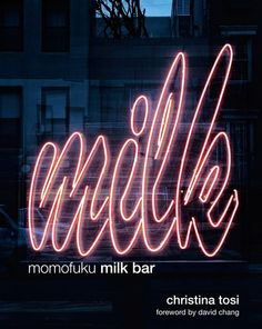 Momofuku Milk Bar now has five locations across New York and Toronto sharing the fantastic creations of chef and owner Christina Tosi. Tosi's cookbook Momofuku Milk Bar shares some of these innovative sweet treats that are brimming with new taste sensations. http://www.bloomsbury.com/uk/momofuku-milk-bar-9781906650766/