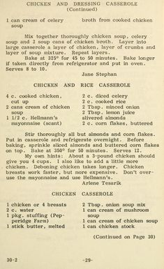 Butter 'n love recipes Retro Recipes, Old Recipes, Vintage Recipes, Cookbook Recipes, Italian Recipes, Cooking Recipes, Recipies, Eat More Chicken, How To Cook Chicken