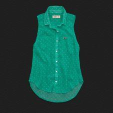 Girls Laguna Beach Chiffon Shirt from HOLLISTER