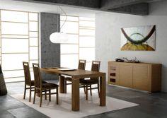 Looks Impressive Wooden Dining Room Ideas Wallpaper