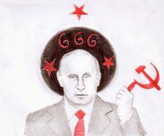 ..:*♥*CORinAZONe ART- The art of Corina Chirila*♥*:...: Vladimir Putin, the Russian dictator