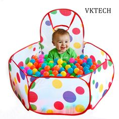 Children's Tent Pool Balls Kids Toys Kids Ocean Balls For The Pool Outdoor Game Pool With Balls Play Tent Toys for Children