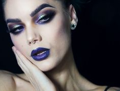 "Polubienia: 1,843, komentarze: 15 – Linda Hallberg Cosmetics (@lindahallbergcosmetics) na Instagramie: ""Thinking about our new palettes ... 💭 - Metallic Mysteries & Enchanted Secrets Duochrome Palette…"""