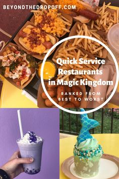 Magic Kingdom has a lot to choose from when it comes to quick-service restaurants. These are our quick-service restaurants in Magic Kingdom ranked from best to worst to help with your Disney World planning. Magic Kingdom Quick Service, Magic Kingdom Food, Disney World Magic Kingdom, Disney Vacation Planning, Disney World Planning, Disney World Vacation, Disney Vacations, Disney Travel, Vacation Ideas