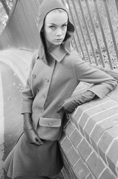 Jean Shrimpton photographed by Brian Duffy, London, 1960.