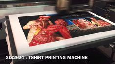 Cotton T Shirt Printer - All Type of Cotton t shirt printing now easy done by this latest cotton tshirt printing machine.