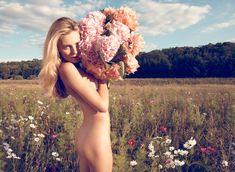 Edita Vilkeviciute by Camilla Akrans for Industrie #2 + Christian Dior