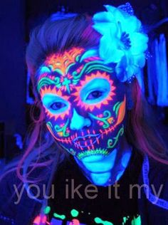 You Like It My...: Sugar Skull Makeup For Day Of The Dead
