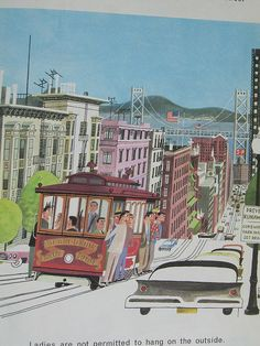 This is San Francisco  This is San Francisco Written and Illustrated by Miroslav Sasek (c) 1962 reprinted in 1968