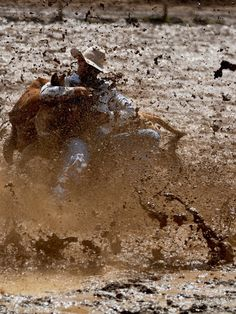rodeo life - in the mud