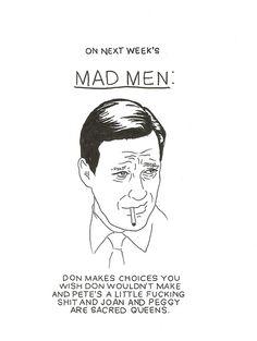 On next week's Mad Men...