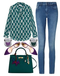 """""""street style"""" by ecem1 ❤ liked on Polyvore featuring Equipment, Calvin Klein, Hermès, Jimmy Choo and Urban Decay"""