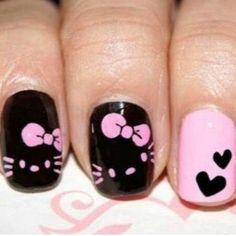 #hello #kitty #nail #art