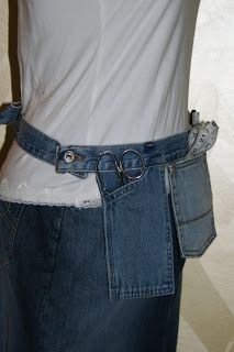 Sewing Tool Belt Every time I am working on a sewing project I spend time trying to f ind the scissors, tape measure, or seam ripper. I s...