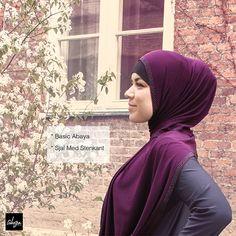 Elegant Hijab with stone
