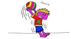 More character design of Zack using TVPaint.