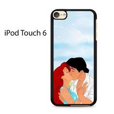 Ariel And Eric Kissing Disney Ipod Touch 6 Case