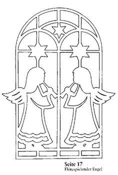 Scherenschnitt Engel