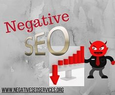 Negative SEO Services can be used to bring down your competitor's website, so you can go up in ranking.