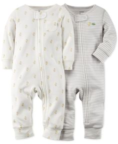 Carter's Baby Boys' 2-Pack Core Coveralls