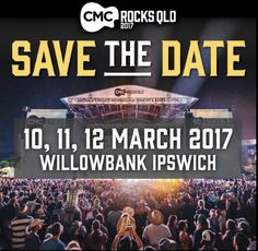 CMC ROCKS 2017 Updated of September: I'm super excited to hear that CMC Rocks has started the drum[. Country Outfits, Western Outfits, Australian Artists, American Artists, Music Festivals, Beautiful World, Country Music, Dates, Grateful